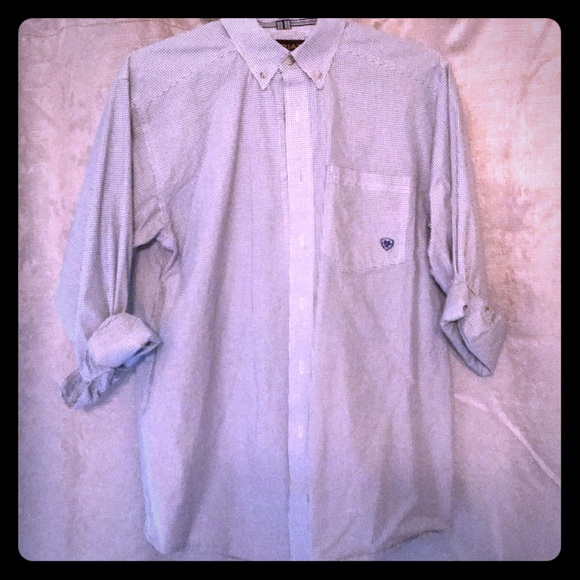 000c68df Ariat Shirts | Mens Pro Series Buttondown | Poshmark